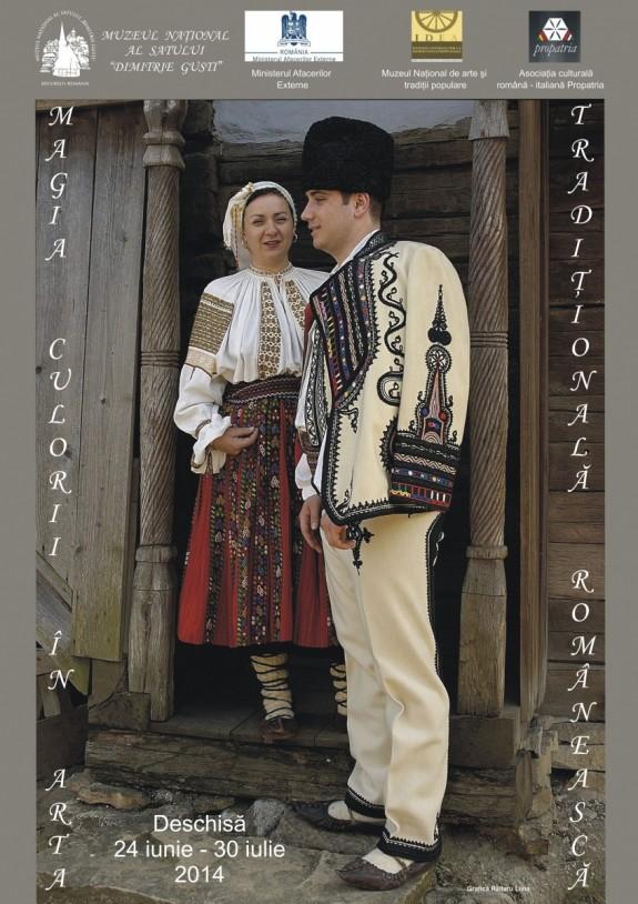 Magia Culorii în arta tradiţională românească