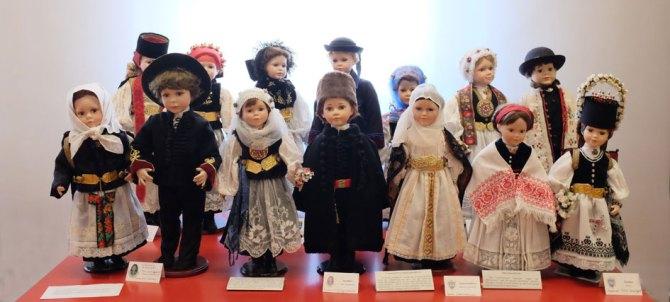 Colecţia de port săsesc în muzeul din Casa Teutsch