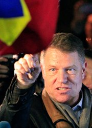 Klaus Iohannis Bucharest