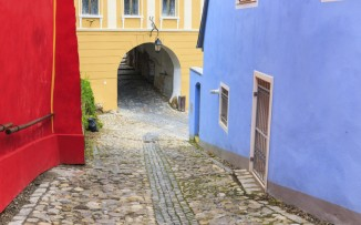 transylvania-sighisoara-street