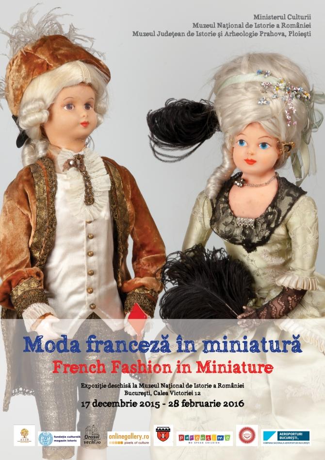 Moda franceză în miniatură