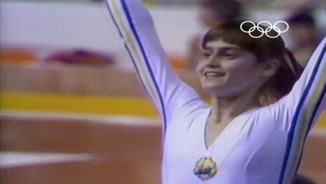 First perfect ten - Nadia Comaneci
