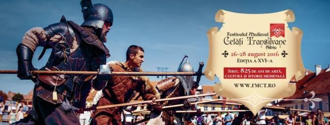 """Festivalul Medieval """"Cetăți Transilvane"""" Sibiu"""